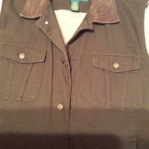 Men's XL Cabelais fleece lined vest